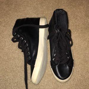 NEW MATTE BLACK SNEAKERS